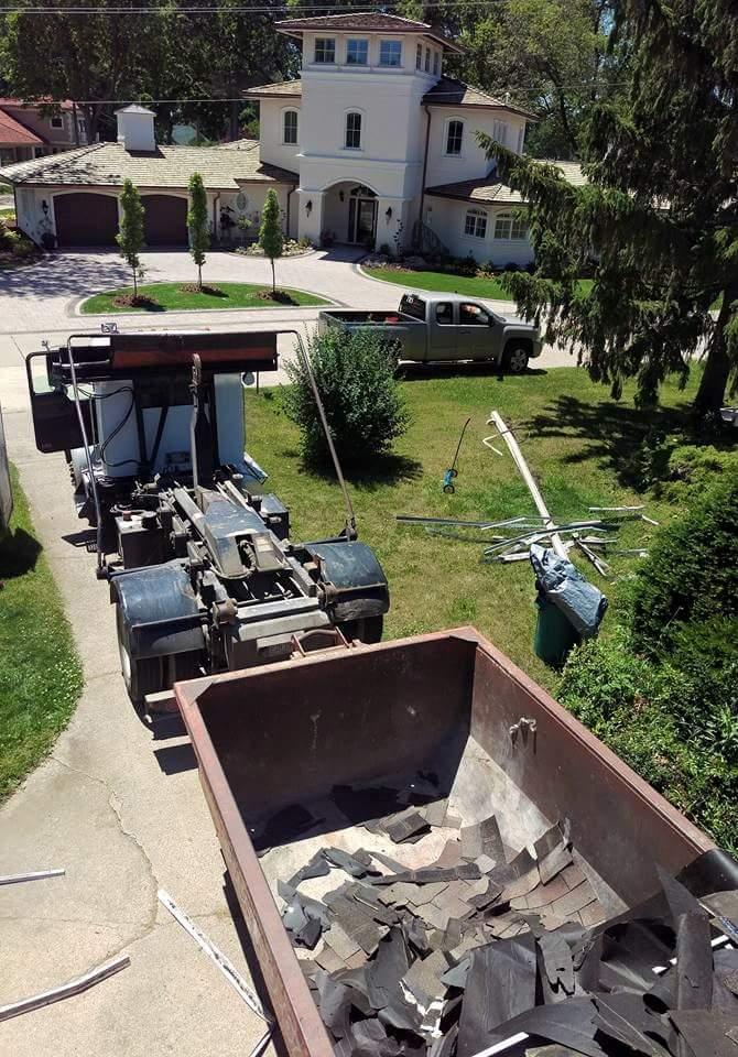 home dumpster rental